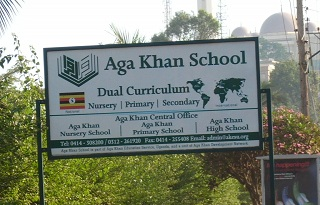 Aga Khan sign