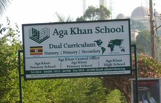 Aga Khan sign