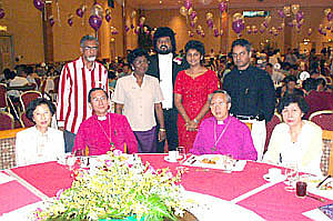 Sylvester & Juliana Nicholas with Bishops