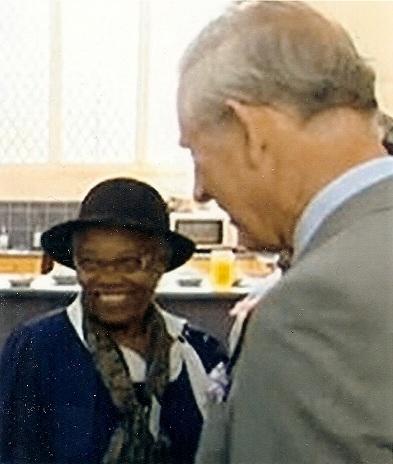 Mavis meets Prince Charles
