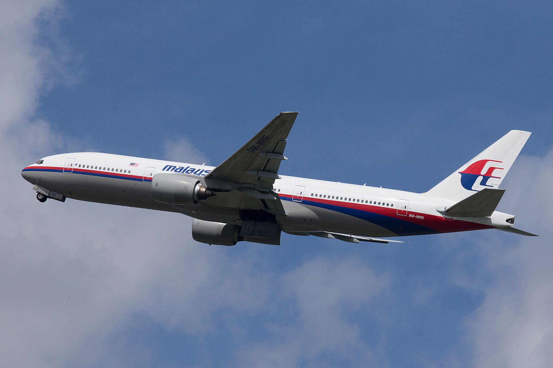MH 370 plane