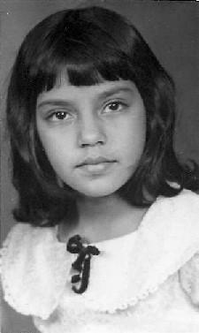 Saida as a child