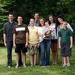 Rick Santorum & family