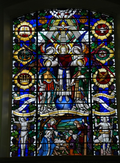 St Mark's church stained glass window