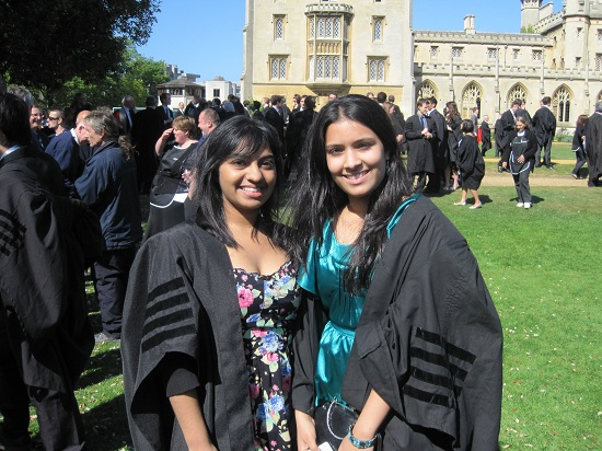 Jannine & Anisha