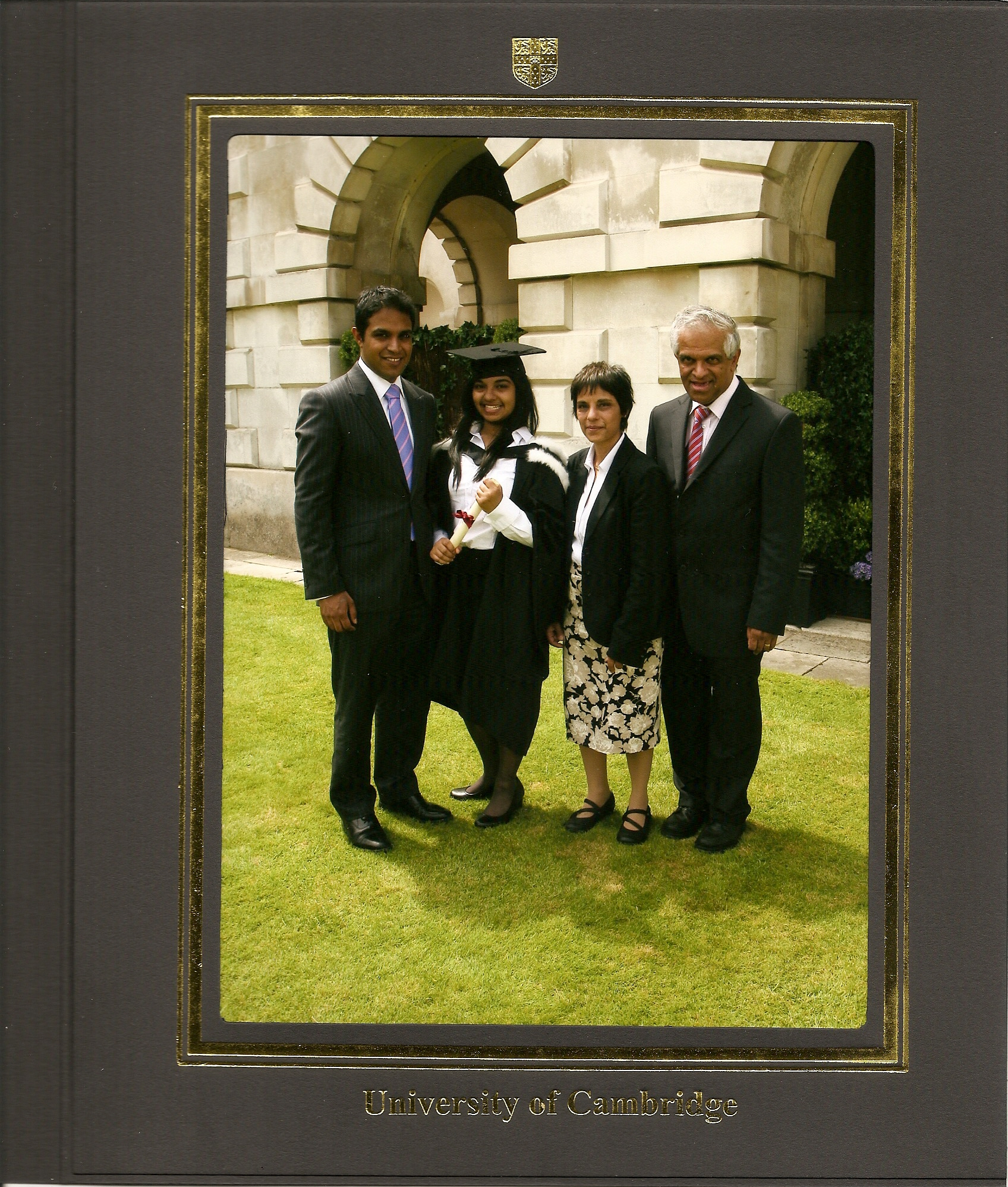 Jannine graduating on 28 June 2012